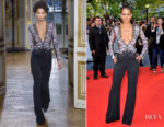 Halle Berry In Zuhair Murad - 'Kings' Toronto Film Festival Premiere