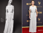Halston Sage In Zac Posen - 2017 Emmy Awards