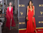 Heidi Klum In Dundas - 2017 Emmy Awards