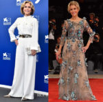 Jane Fonda In Alberta Ferretti & Marchesa - 'Our Souls At Night' Venice Film Festival Photocall & Premiere