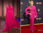 Jane Fonda In Brandon Maxwell - 2017 Emmy Awards