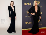 Jane Krakowski In Badgley Mischka - 2017 Emmy Awards