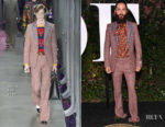 Jared Leto In Gucci - BoF 500 Gala