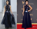 Jenna Dewan-Tatum In Carolina Herrera - 2017 Creative Arts Emmy Awards