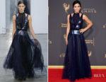 Jenna Dewan-Tatum In Carolina Herrera - 2017 Creative Arts Emmy Awards