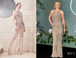 Jennifer Lawrence In Atelier Versace -'Mother!' London Premiere