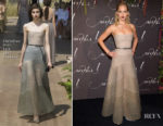 Jennifer Lawrence In Christian Dior Couture - 'Mother!' Paris Premiere
