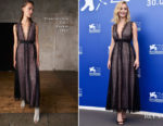Jennifer Lawrence In Giambattista Valli - 'Mother!' Venice Film Festival Photocall