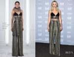 Jennifer Lawrence In Sally LaPointe, Dolce & Gabbana & Valentino - 'Mother!' Toronto Film Festival