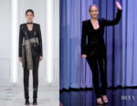 Jennifer Lawrence In Sally LaPointe  - The Tonight Show with Jimmy Fallon