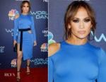Jennifer Lopez In David Koma - NBC's 'World of Dance' celebration