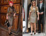 Jennifer Lopez In Gucci - Out In New York City