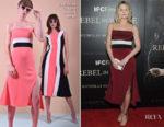 Jennifer Morrison In Christian Siriano - 'Rebel In The Rye' New York Premiere