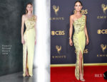 Jennifer Nettles In Pamella Roland - 2017 Emmy Awards