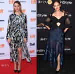 Jess Weixler In Marni & Roland Mouret -  'Who We Are Now' Toronto Film Festival Premiere & HFPA & InStyle TIFF Party