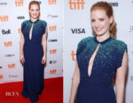 Jessica Chastain In Prada - 'Molly's Game' Toronto Film Festival Premiere