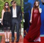 Julianne Moore In Prada & Valentino  - Venice Film Festival & The Franca Sozzani Award