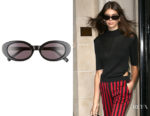 Kaia Gerber's Elizabeth and James McKinley Sunglasses
