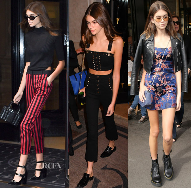 Kaia Gerber 39 S Paris Fashion Week Style Red Carpet Fashion Awards