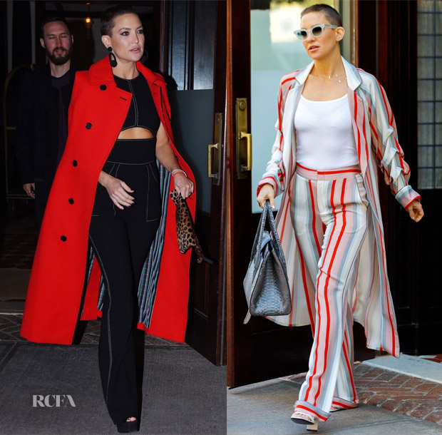 Kate Hudson In Marni, David Koma & Johanna Ortiz - Out In New York City
