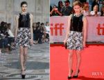 Kate Mara In Giambattista Valli Couture - 'Chappaquiddick' Toronto Film Festival Premiere