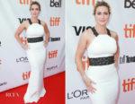Kate Winslet In Badgley Mischka - The Mountain Between Us' Toronto Film Festival Premiere