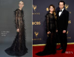 Keri Russell In J. Mendel - 2017 Emmy Awards