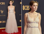 Kiernan Shipka In Miu Miu - 2017 Emmy Awards