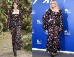 Kirsten Dunst In Rodarte - 'Woodshock' Venice Film Festival Photocall