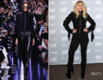 Lady Gaga In Elie Saab - 'Lady Gaga: Five Foot Two' Press Conference