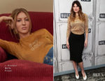 Lake Bell In J Brand x Bella Freud + L.K. Bennett - BUILD Series