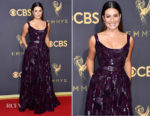 Lea Michele In Elie Saab - 2017 Emmy Awards