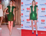 Lili Reinhart In Yanina Couture - 2017 iHeartRadio Music Festival - Night 2