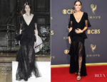 Louise Roe In ADEAM - 2017 Emmy Awards