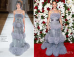 Lucy Liu In Yanina Couture - The American Theatre Wing's Centennial Gala