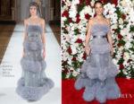 Lucy Liu In Yanina Couture - The American Theatre Wing's Centennial Gala