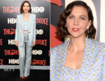 Maggie Gyllenhaal In Miu Miu - 'The Deuce' New York Premiere