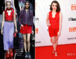 Maisie Williams In Emporio Armani - 'Mary Shelley' Toronto Film Festival Premiere