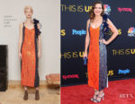 Mandy Moore In Rosie Assoulin - 'This Is Us' Season 2 Premiere