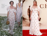 Margot Robbie In Brock Collection - 'Goodbye Christopher Robin' World Premiere