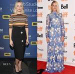 Margot Robbie In Apiece Apart, Ji Oh & Erdem -  IMDb Studio & 'I, Tonya' Toronto Film Festival Premiere