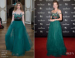 Maria Ivakova In Yanina Couture - Jaeger-LeCoultre Gala Dinner