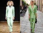 Marion Cotillard rocks a Whyred power suit in Milan