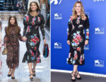 Michelle Pfeiffer In Dolce & Gabbana - 'Mother!' Venice Film Festival Photocall
