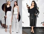 Mila Kunis In Cushnie et Ochs & J Brand - Jim Beam Vanilla Launch Party