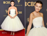 Millie Bobby Brown In Calvin Klein By Appointment -  2017 Emmy Awards