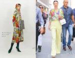 Miranda Kerr In Balenciaga & Celine - The Today Show