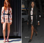 Naomie Harris In Giamba - STK London