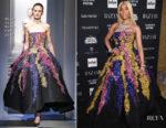 Nicki Minaj In Oscar de la Renta - Harper's BAZAAR Celebrates 'ICONS By Carine Roitfeld'