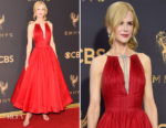 Nicole Kidman In Calvin Klein by Appointment - 2017 Emmy Awards